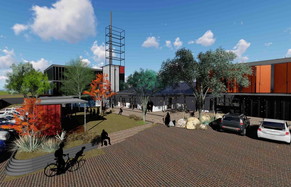 Labora Yard Retail Centre Main