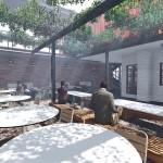 Restaurant External Seating Area
