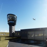 Proposed Control Tower and Fire Station