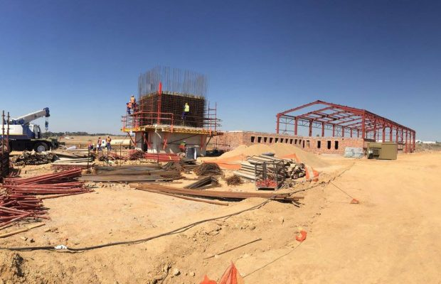 Lanseria Control Tower and Fire Station Construction Progress Main